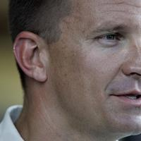 Erik Prince, Founder and CEO of the company formerly known as Blackwater Worldwide. (AP)