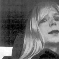 This undated photo provided by the U.S. Army shows Pfc. Bradley Manning wearing a wig and lipstick. (U.S. Army)