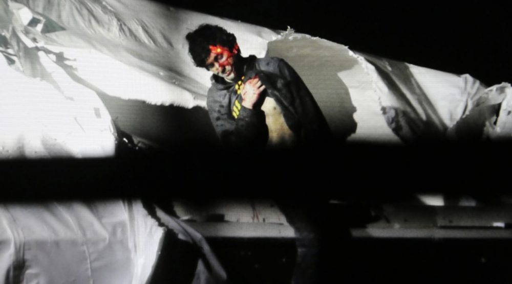 Boston Marathon bombing suspect Dzhokhar Tsarnaev, prior to his capture (Sean Murphy/Massachusetts State Police/AP)