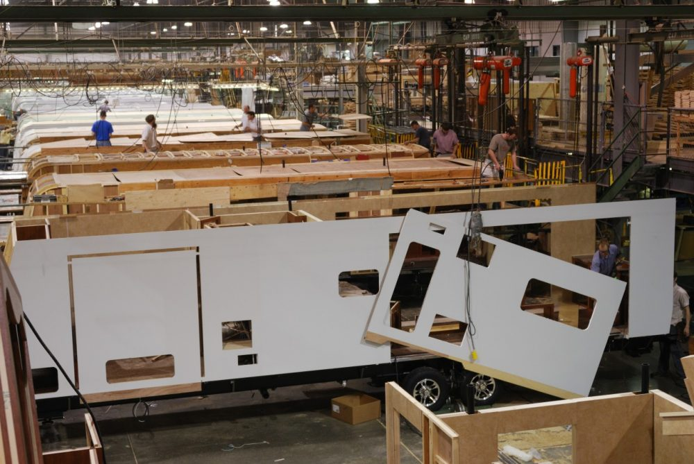 Rv Industry Economy Recover In Elkhart Ind Here Amp Now