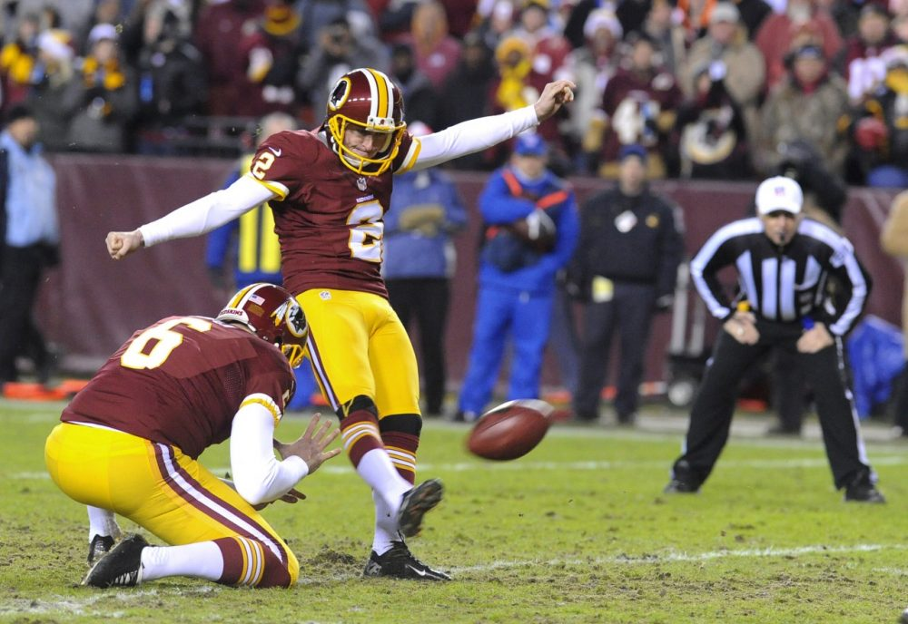 Will extra points, like this one taken by Washington kicker Kai Forbath in 2013, become a thing of the past? (Richard Lipski/AP)