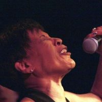 Bettye LaVette at Club Helsinki last month. (Seth Rogovoy)