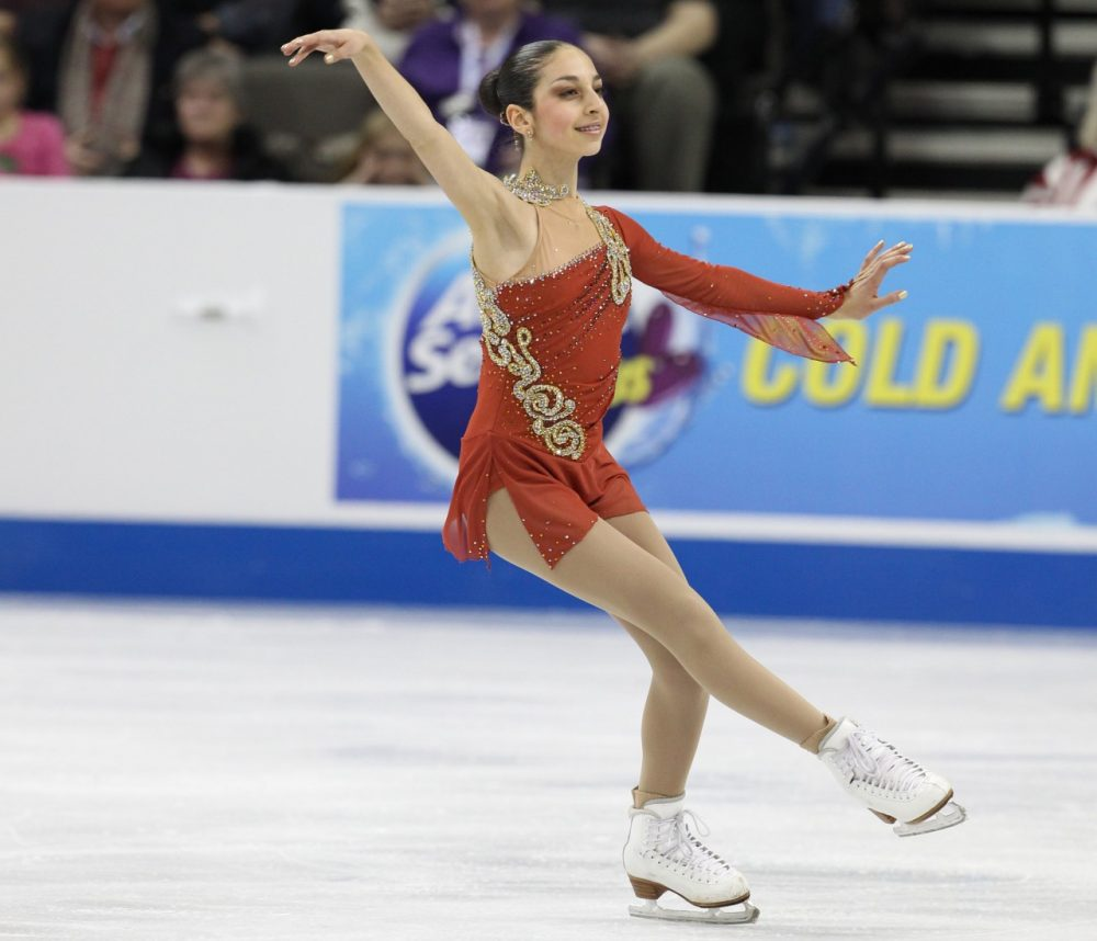 This Thursday, Yasmin Siraj will compete at Boston's TD Garden with a ticket to Sochi on the line.