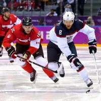 Neither the US men's or women's hockey team could defeat the Canadians. (Martin Rose/Getty Images)