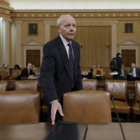 Internal Revenue Service (IRS) Commissioner John Koskinen arrives on Capitol Hill in Washington, Wednesday, Feb. 5, 2014, to testify before the House Ways and Means Oversight subcommittee hearing focusing on a variety of issues facing the IRS. (AP)