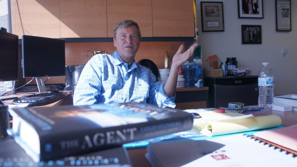 Leigh Steinberg was one of the most highly touted sports agents. (Saul Gonzalez/Only A Game)