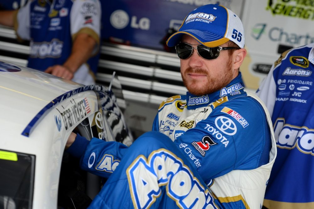 Brian Vickers is ready to get back in the racecar after a brief derailment with blood clots. (Robert Laberge/Getty Images)