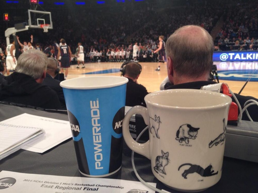 Here's the cat mug in question before it was confiscated. (Jason Gay/ Wall Street Journal)