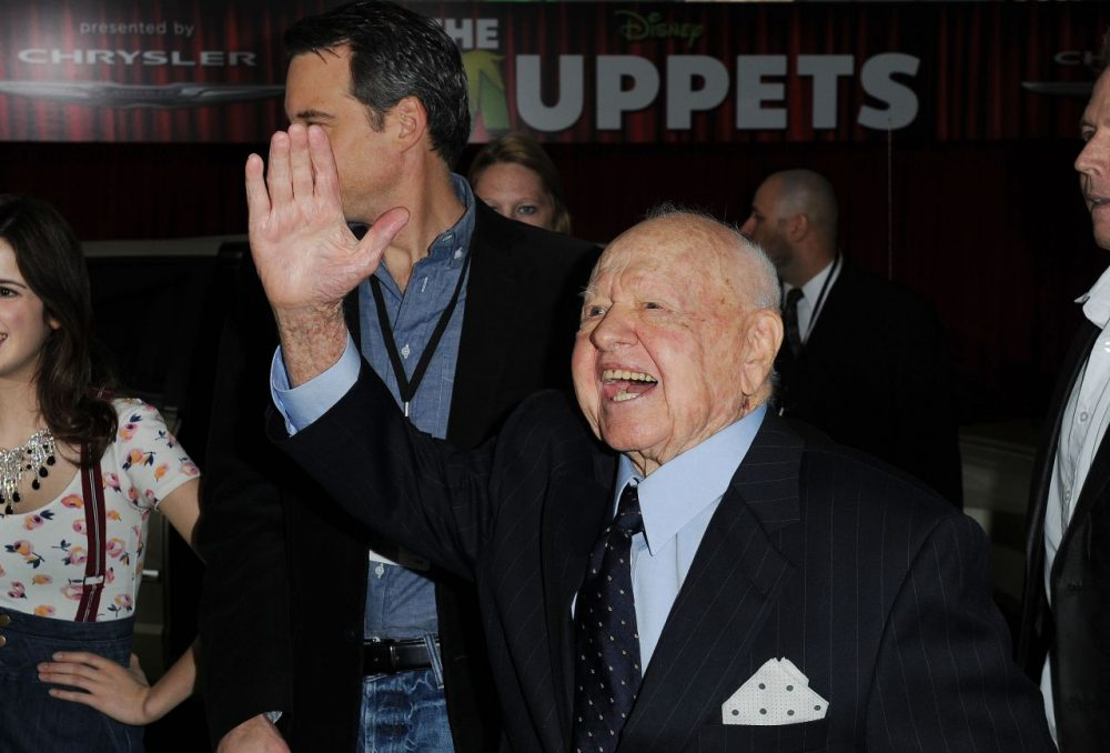 Mickey Rooney was nominated for four Academy Awards. (Katy Winn/AP)