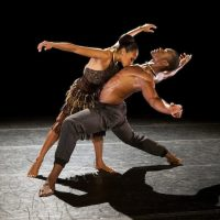 "Linda Celeste Sims and Jamar Roberts in ""Lift"" by the Alvin  Ailey American Dance Theater.  (Paul Kolnik)"