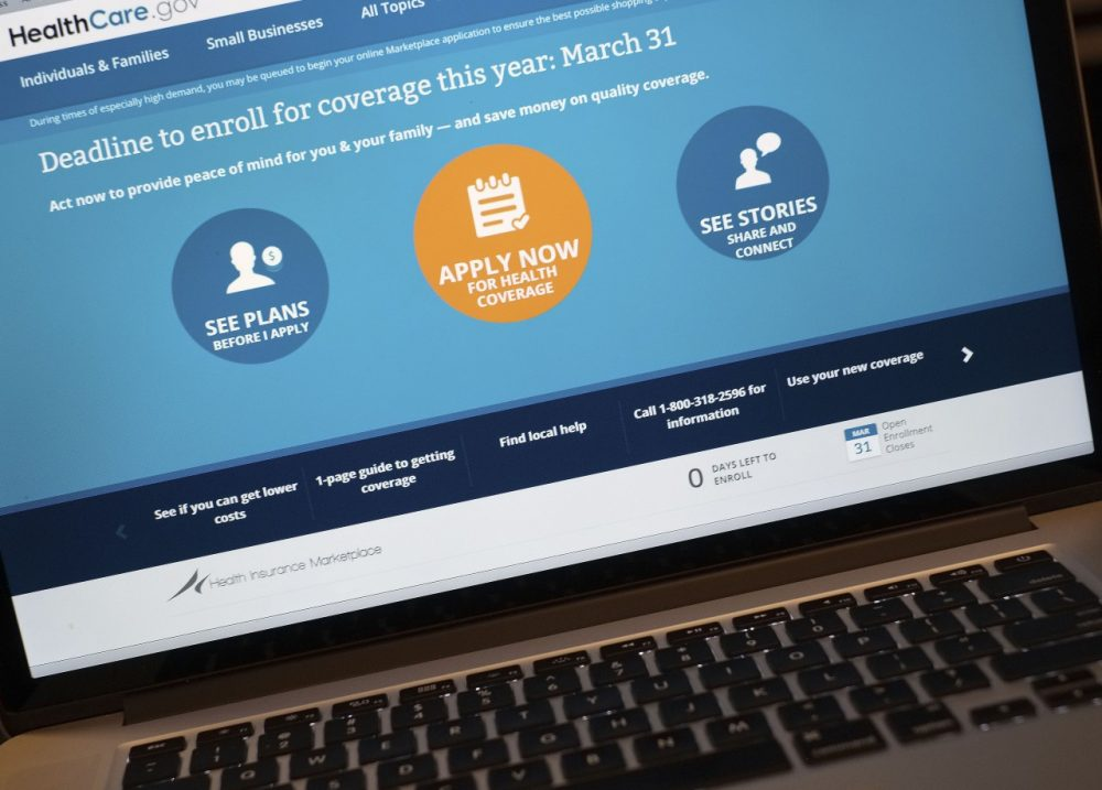 The HealthCare.gov website is shown on a laptop in Washington, Monday, March 31, 2014.  (AP)