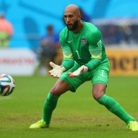 U.S. goalie Tim Howard has been widely praised for his play in the group stage of the World Cup. (Kevin C. Cox/Getty Images)