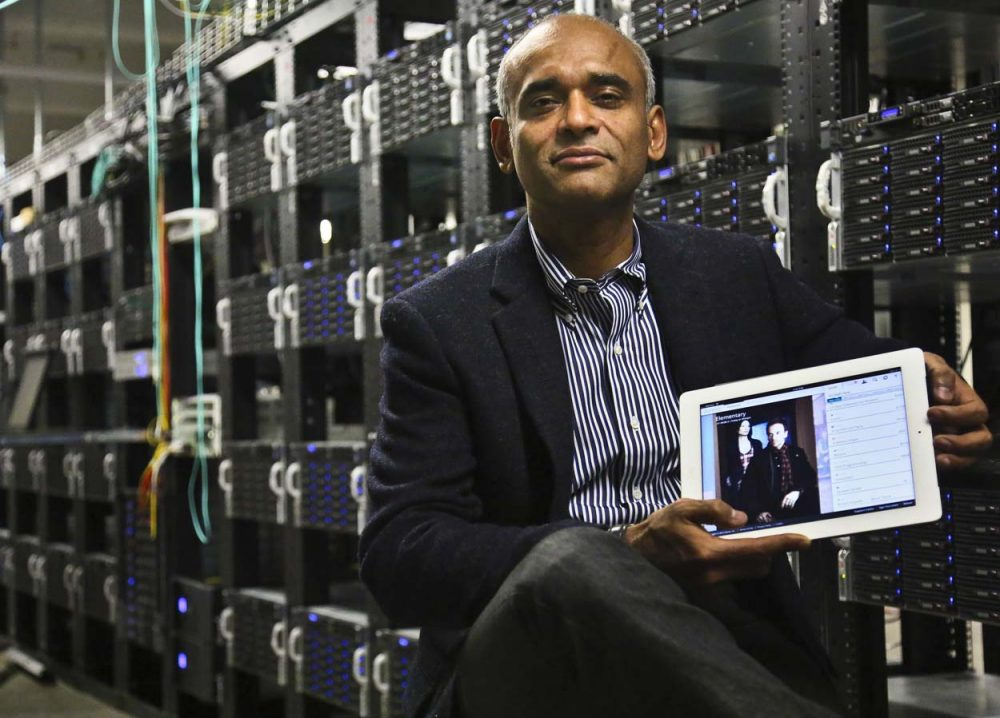 Aereo founder and CEO Chet Kanojia. (Bebeto Matthews/AP)