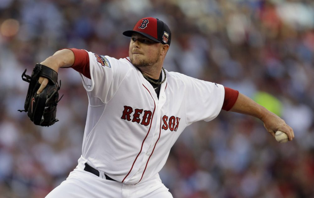 Jon LesterJon Lester was dealt by the Red Sox to Oakland at the trade deadline in July. ( Jeff Roberson/AP)