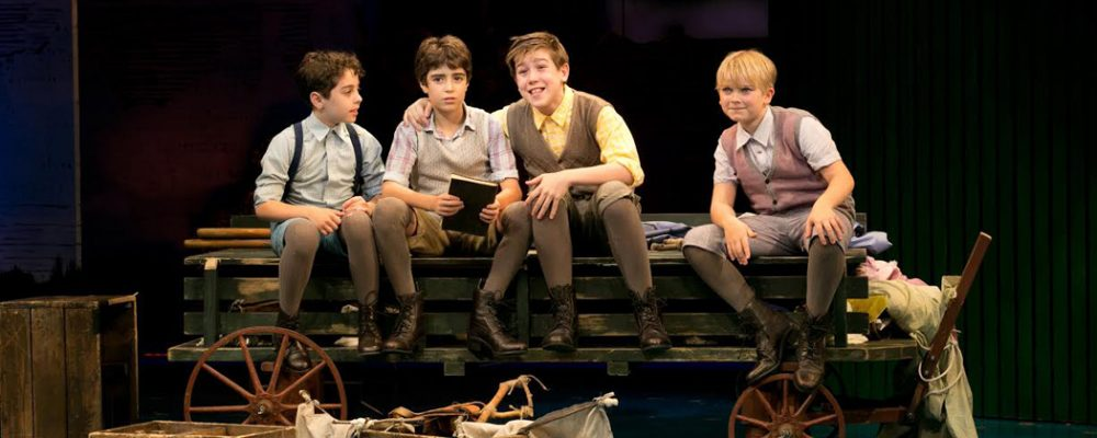 The Davies boys (Evgenia Eliseeva/American Repertory Theater)