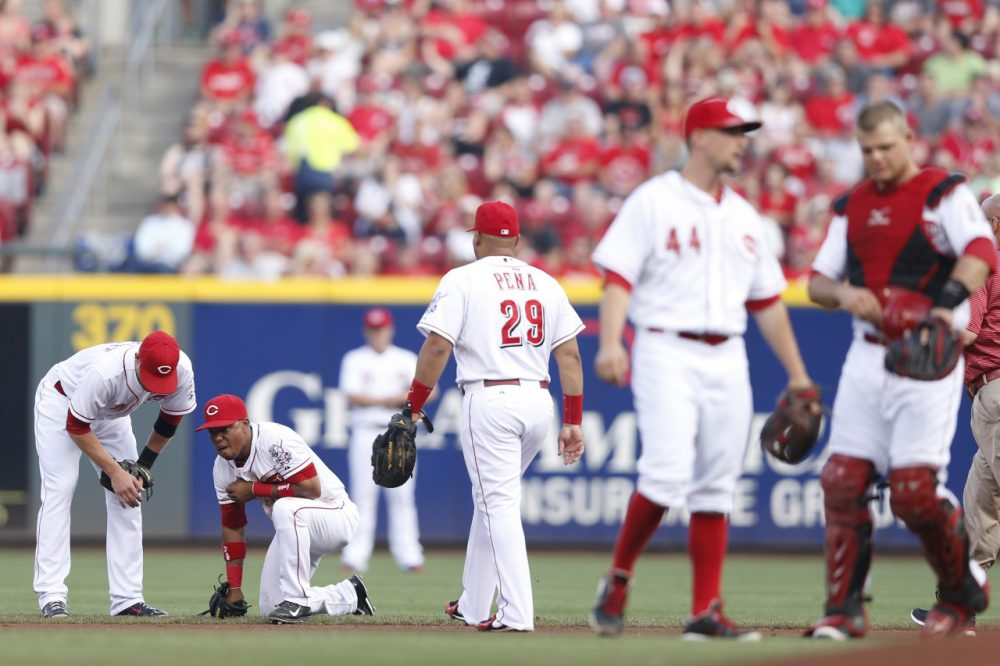 The average nine-inning baseball game is 13 minutes longer today than it was in 2010. (Joe Robbins/Getty Images)