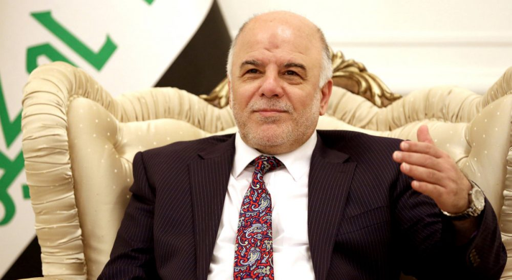 Mandela focused in a path of inclusion in a divided society. Haider al-Abadi should do the same. Pictured: Iraqi Prime Minister Haider al-Abadi, speaks during a meeting with German's Foreign Minister Frank-Walter, in Baghdad, Iraq, Saturday, Aug 16, 2014. (Hadi Mizban/AP/Pool)