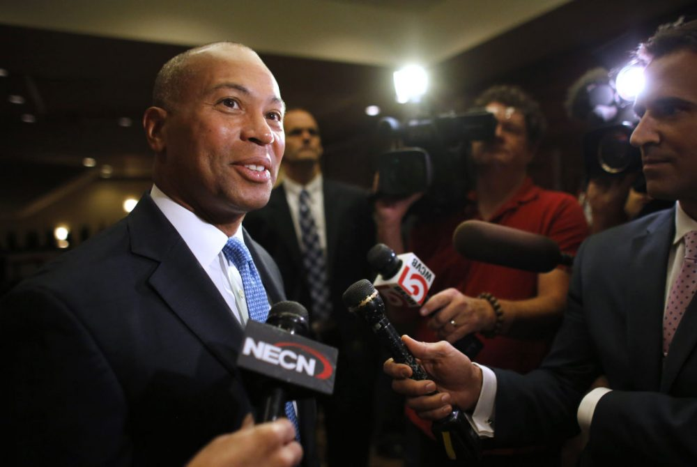 Gov. Deval Patrick, in an August file photo (Steven Senne/AP)