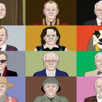 "Apparently, it's Bill Murray Day today, and Canada. Gets. It. (Steve Murray / <a href=""http://arts.nationalpost.com/2014/03/14/the-many-faces-of-bill-murray-an-illustrated-compilation/"">National Post</a>)"