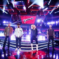 "Pictured are judges from NBC's ""The Voice"" (l-r) Blake Shelton, Pharrell Williams, Gwen Stefani, Adam Levine, whose judges are much nicer to contestants than on other competition programs. (Trae Patton/NBC)"