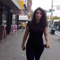 A still from the Rob Bliss Creative street harassment video. (Rob Bliss Creative)