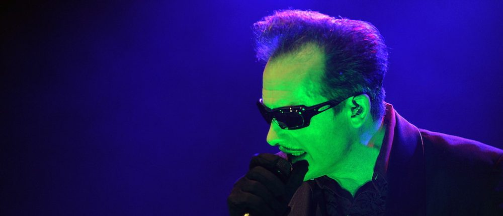 Dave Vanian of the Damned in London on April 2014 (Dod Morrison)