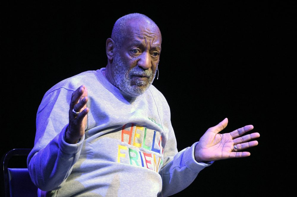 Comedian Bill Cosby performs at the Maxwell C. King Center for the Performing Arts, in Melbourne, Fla. in November. (Phelan M. Ebenhack/AP)