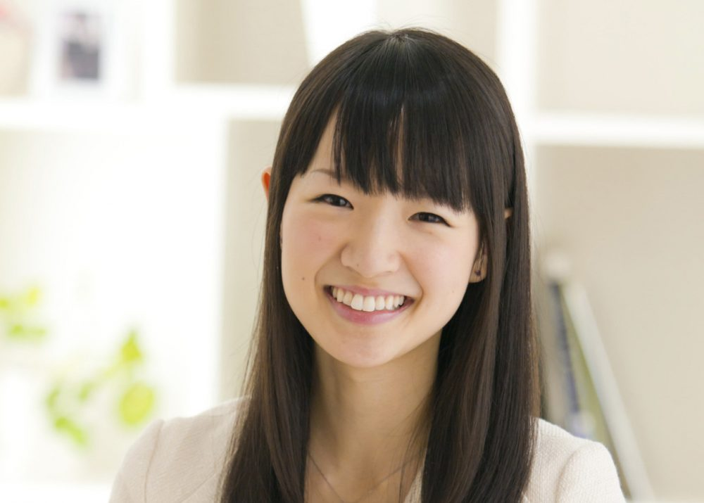 """Tidying consultant"" Marie Kondo has built a huge following with her method of organizing and de-cluttering. (Ten Speed Press)"