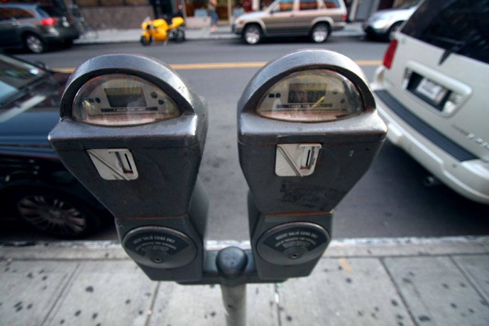 The city is updating all of its parking meters to work with the ParkBoston cellphone app.  (Jp Gary via Flickr)