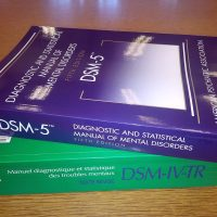 "The DSM-5, widely known as the ""bible of psychiatry,"" is close to 1,000 pages and not exactly user-friendly. (Wikimedia Commons)"