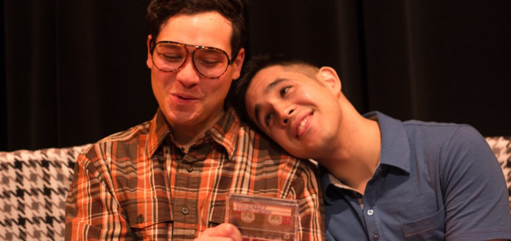 "Gideon Bautista (as Kenny) and Eddie Shields (as Benji) in ""Edith Can Shoot Things and Hit Them."" (Paul Fox)"