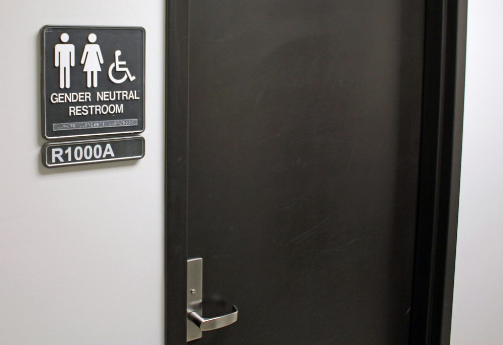 A gender neutral bathroom. (denverjeffrey/Flickr)