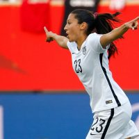Team USA won their first match in the Women's World Cup. Women's soccer has gained popularity in other countries besides the U.S., as a record 24 countries are participating this year. (Kevin Cox/Getty Images)