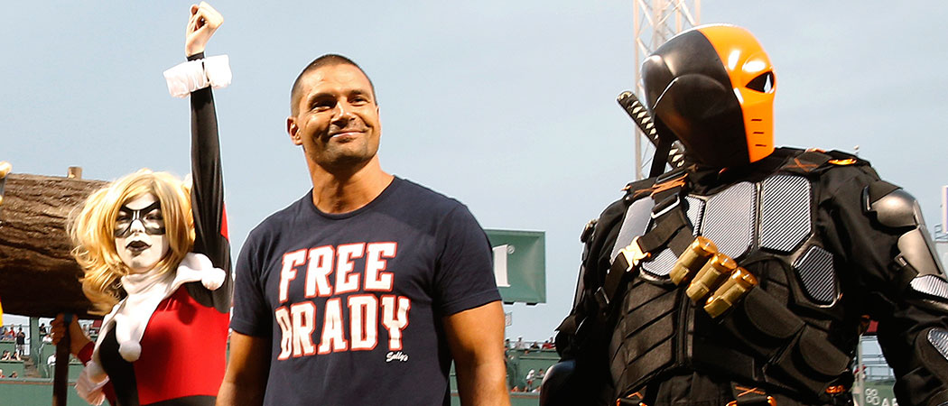 "Thursday night was the first-ever ""Boston Comic Con Night"" at Fenway Park. (Michael Dwyer/AP)"