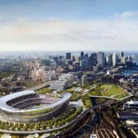 "Jean Horstman: ""Every aspect of Boston's Olympic bid should be predicated on the intent to build a city that offers greater opportunity for everyone."" Pictured: This architect's rendering released Monday, June 29, 2015, by the Boston 2024 planning committee shows an Olympic stadium that is proposed to be built in Boston if the city is awarded the Games. The Boston group trying to land the Olympics released the most detailed look yet at its bid for the Summer Games, unveiling a $4.6 billion plan it says would create jobs and housing, expand the tax base and leave behind an improved city with a $210 million surplus. (Elkus Manfredi Architects for Boston 2024/AP)"
