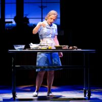 "Jessie Mueller in the American Repertory Theater's production of ""Waitress."" (Evgenia Eliseeva/American Repertory Theater)"