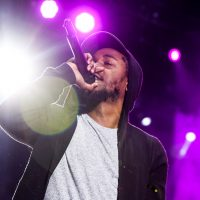 "Kendrick Lamar's song ""Alright"" tackles police violence. (Rich Fury/AP)"