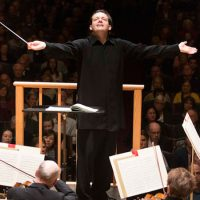 Andris Nelsons conducts the Boston Symphony Orchestra. (Courtesy of Marco Borggreve)