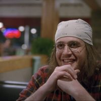 "Jason Segel as author David Foster Wallace in the new film, ""The End of the Tour."" (Courtesy A24 Films)"