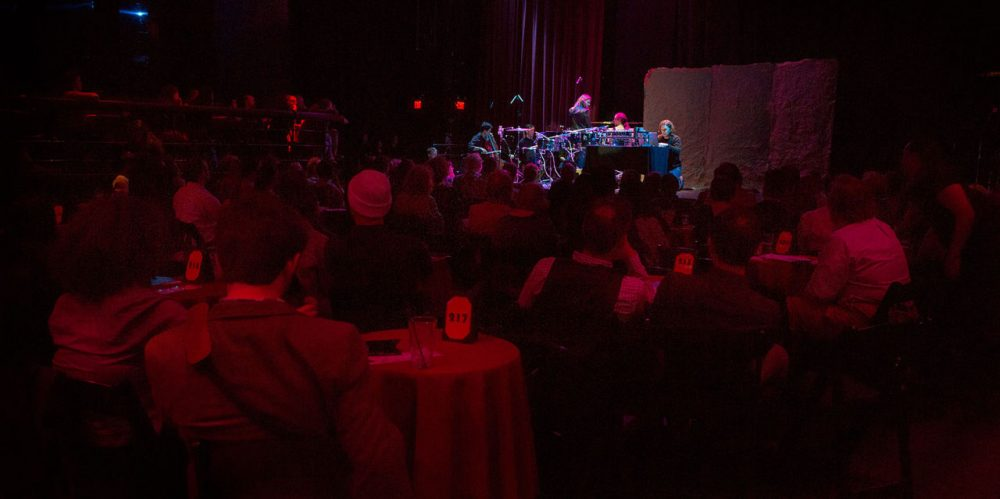 Juventas New Music Ensemble and Puppet Showplace Theater perform at Oberon last May. (Robin Lubbock/WBUR)