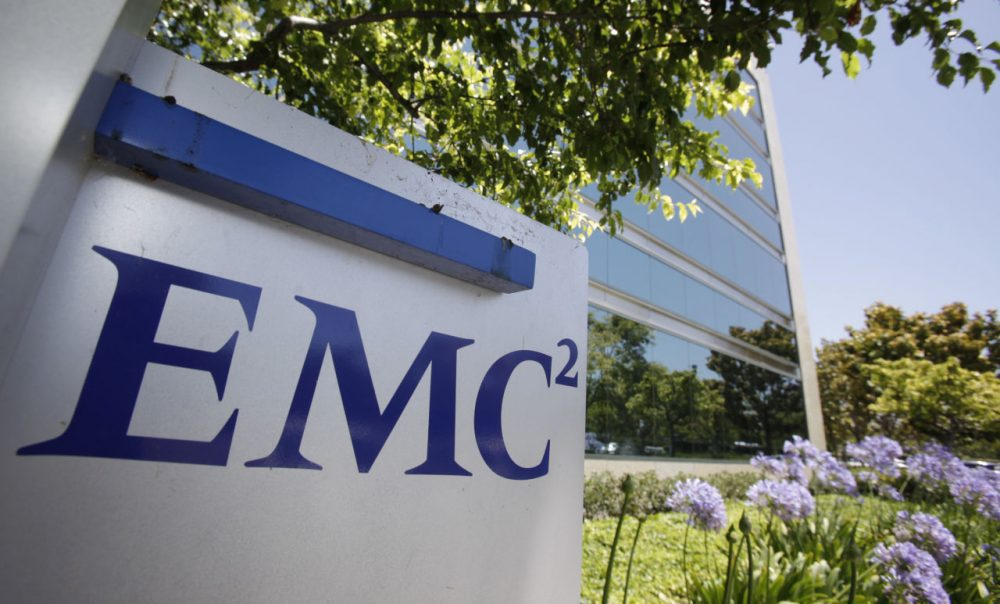 Dell is buying data storage company EMC in a deal valued at approximately $67 billion, the companies announced, Monday. (Paul Sakuma/AP)