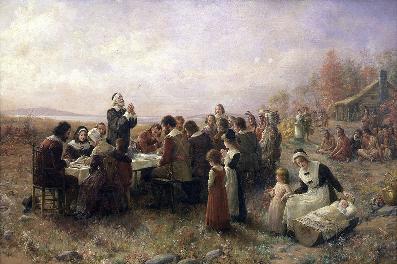 thanksgiving meal history
