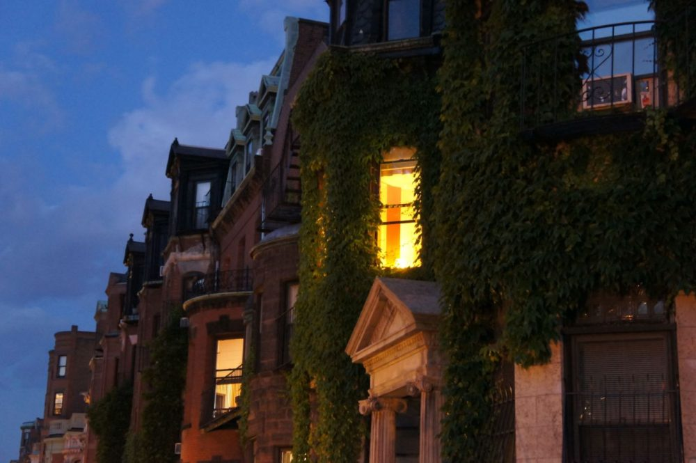 Back Bay is famous for its Victorian brownstones from the 19th century. (Lucy Orloski/Flickr)