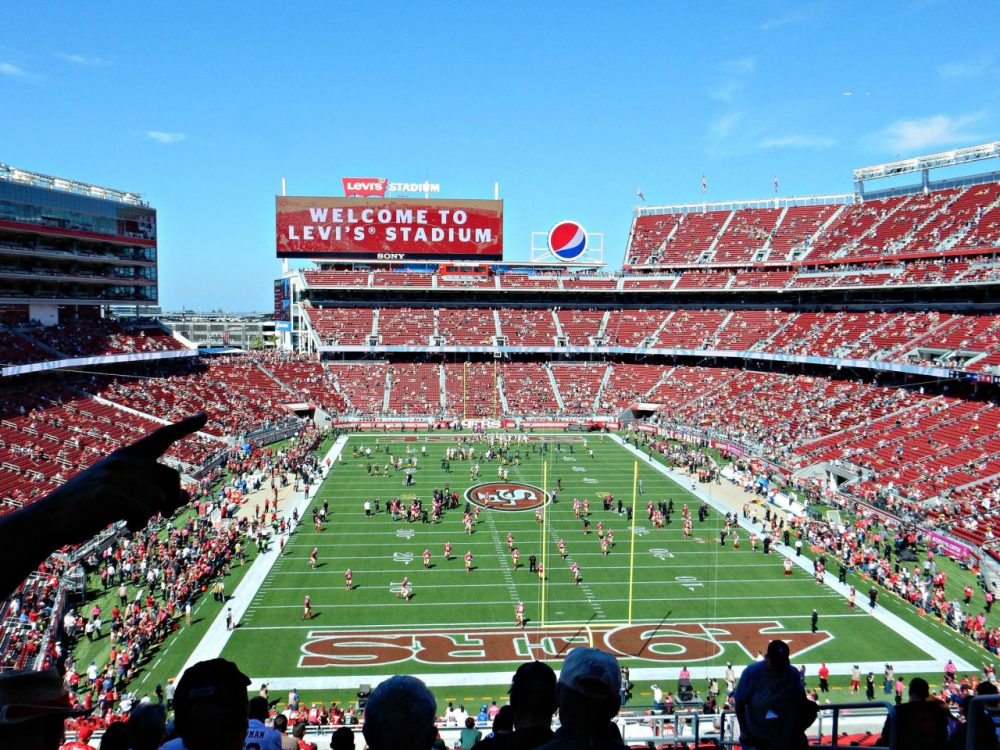 Levi's Stadium, in the San Francisco Bay Area, is hosting Super Bowl 50 on February 7. (dmcordell/Flickr)