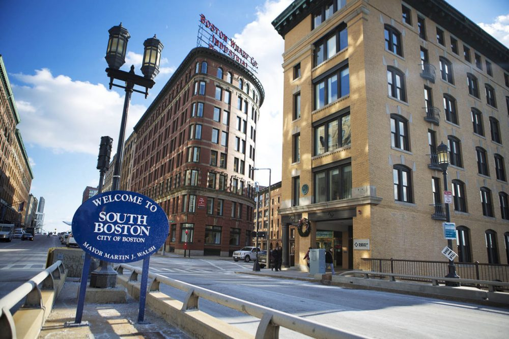 General Electric is abandoning its sprawling Fairfield, Connecticut, campus, for Boston's waterfront. The move is part of a larger business trend of leaving the suburbs for the city. (Jesse Costa/WBUR)