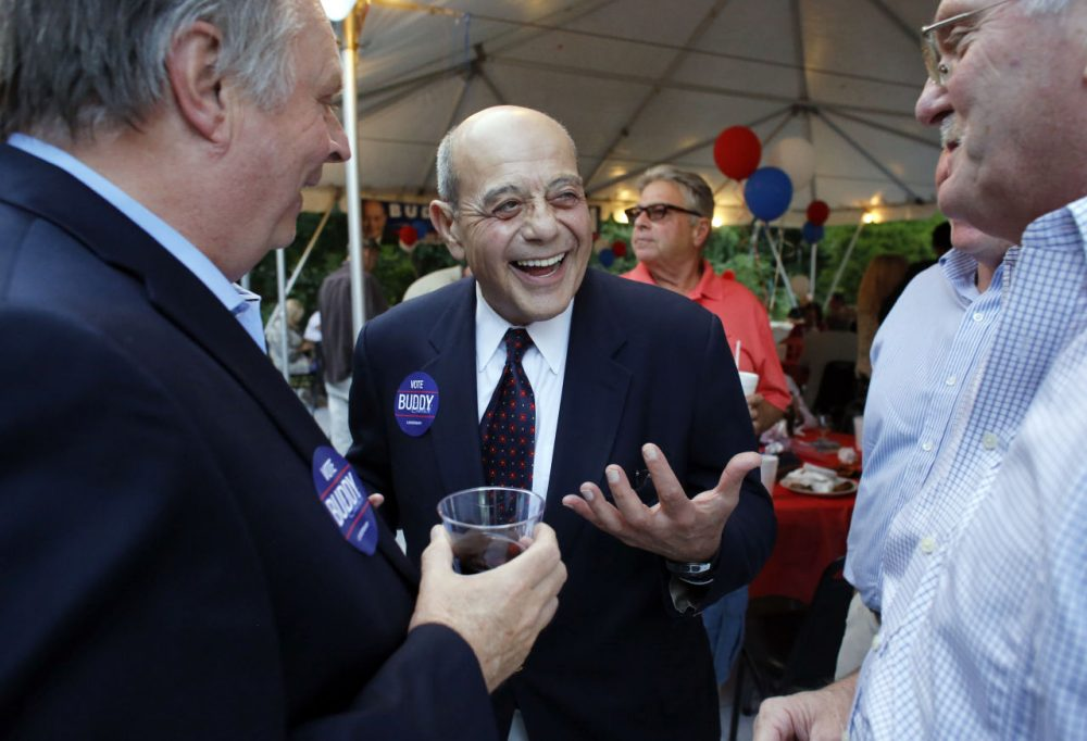 Cianci during his 2014 mayoral campaign in Providence. (Steven Senne/AP)