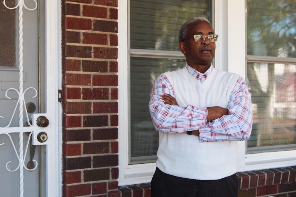 Rev. Anthony Thompson's wife Myra was one of nine killed at Charleston's Emanuel A.M.E. Church in June. Since then, he's had little time for grieving, between consoling his children and friends. Now he's leading the charge for gun reform in South Carolina and he's backing Hillary Clinton. (Dean Russell/Here & Now)