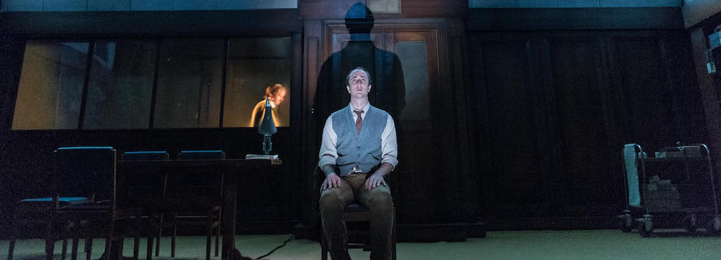 "Matthew Spencer in ""1984."" (Courtesy Manuel Harlan/American Repertory Theater)"