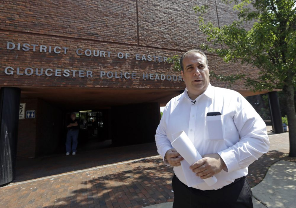The bill is inspired by an initiative in Gloucester, where police have started helping addicts get into treatment. Gloucester Police Chief Leonard Campanello, pictured here, says since launching the initiative about eight months ago, his department has gotten 400 people into treatment. (Elise Amendola/AP)