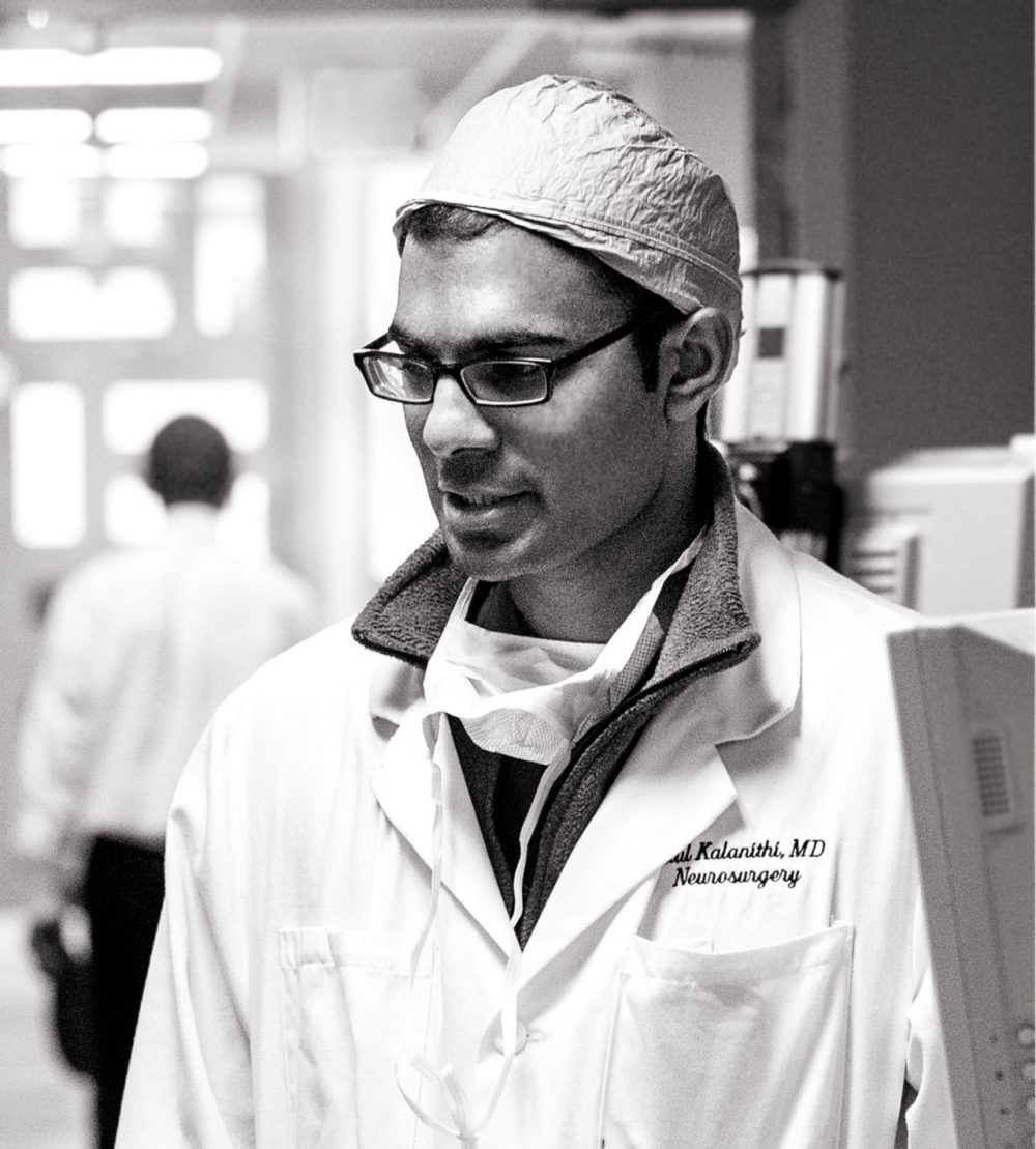 Paul Kalanithi was a nuerosurgeon at Stanford. ( Norbert von der Groeben/Stanford Hospital and Clinics, courtesy of Random House)